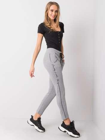 Szare spodnie dresowe Hazel