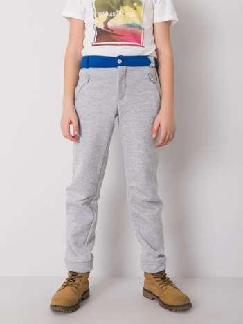 Szare spodnie dresowe dla chłopca DODO KIDS