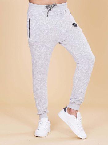 Szare spodnie dresowe dla mężczyzny