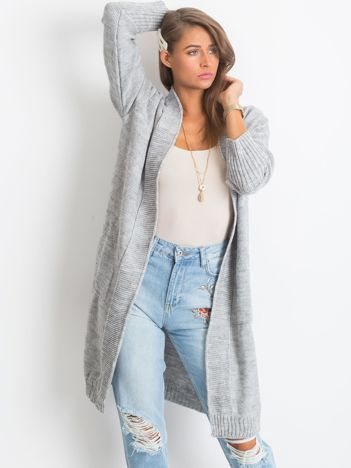 Szary sweter Destiny