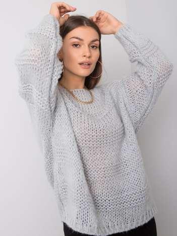 Szary sweter Reeva OCH BELLA