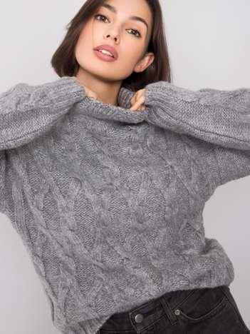 Szary sweter Roberta RUE PARIS