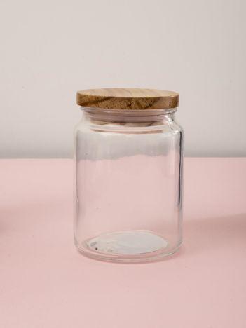 Szklany słoik z pokrywką