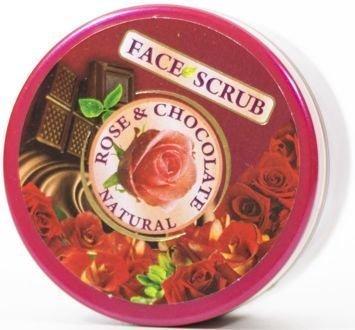 THE ROSE Peeling do twarzy Róża i Czekolada 100 ml