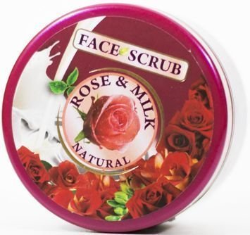 THE ROSE Peeling do twarzy Róża i Mleko 100 ml