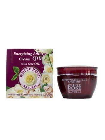 THE ROSE Przeciwzmarszczkowy krem z Q10 White Rose 50 ml