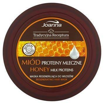 TRADYCYJNA RECEPTURA Maska regenerująca Miód i proteiny mleczne 250g