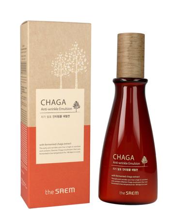 The SAEM Chaga Anti-Wrinkle Emulsja przeciwzmarszczkowa do twarzy 140 ml