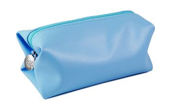 """Torba kosmetyczna """"B?K"""", niebieska (17x7x7,5cm)"""