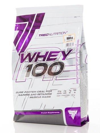 Trec - Odżywka białkowa Whey 100 strawberry 900g