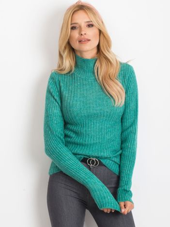 Turkusowy sweter Milo