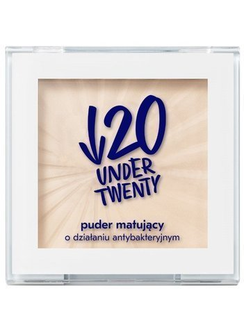 Under Twenty Puder matujący o działaniu antybakteryjnym 6g