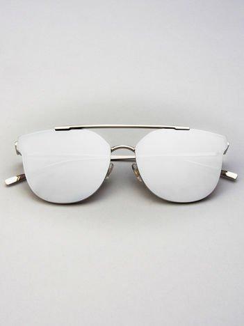 VICS Okulary przeciwsłoneczne LUSTRZANKI SILVER