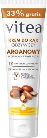 VITEA Krem do rąk i paznokci odżywczy Arganowy 75ml + 25 ml