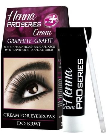 Verona PRO SERIES HENNA DO BRWI W KREMIE GRAFIT 15 ml