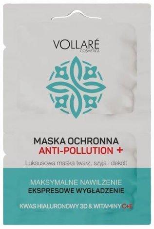 Vollaré MASKA NAWILŻAJĄCA ANTI - POLLUTION 2 x 5 ml