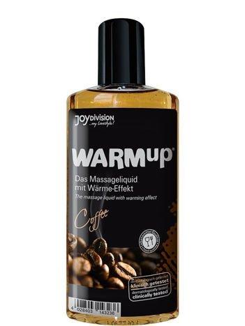 WARMup Coffee, 150 ml Rozgrzewający żel o zapachu kawy do erotycznego masażu ciała