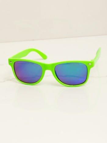 WAYFARERY stylowe dziecięce okulary przeciwsłoneczne odporne na wyginania