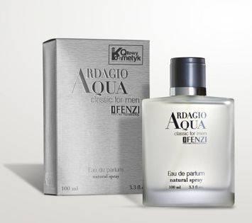WODA PERFUMOWANA MĘSKA JFENZI ARDAGIO AQUA MEN CLASSIC 100 ml