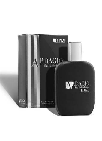 WODA PERFUMOWANA MĘSKA JFENZI ARDAGIO EAU DE BLACK NIGHT 100 ml