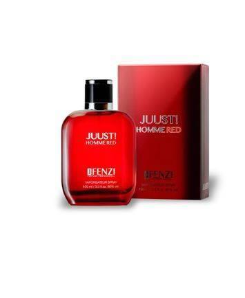 WODA PERFUMOWANA MĘSKA JFENZI JUUST! RED HOMME 100 ml