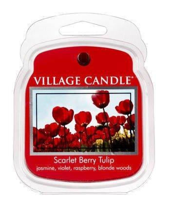 Wosk zapachowy VILLAGE - Scarlet Berry Tulip