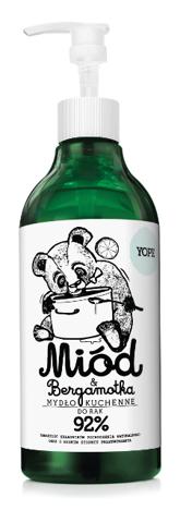 YOPE Mydło w płynie Bergamotka Miód500 ml