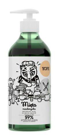 YOPE Naturalny płyn do mycia naczyń Mięta mandarynka 750 ml