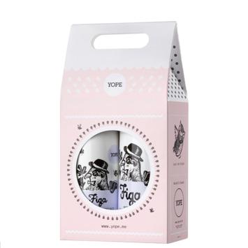"""YOPE Zestaw prezentowy Figa (mydło w płynie 500ml+balsam do rąk 300ml)"""""""