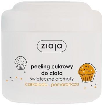 ZIAJA PEELING CUKROWY CZEKOLADA POMARAŃCZA 200 ml