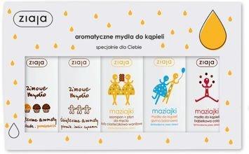 ZIAJA Zestaw 5 Aromatycznych MYDEŁ