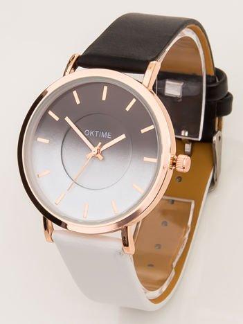 Zegarek damski OMBRE czarno-biały