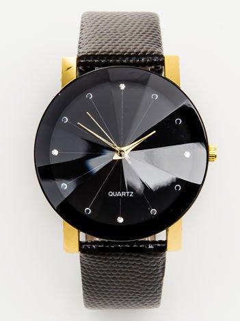 Zegarek damski złoto-czarny