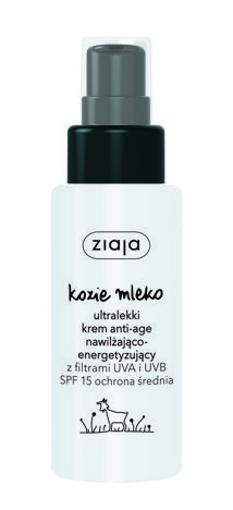 Ziaja Kozie Mleko ULTRALEKKI KREM SPF 15/ 50ml