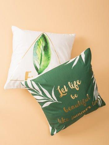 Zielona poduszka dekoracyjna