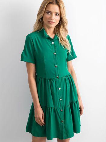 Zielona sukienka Aerial