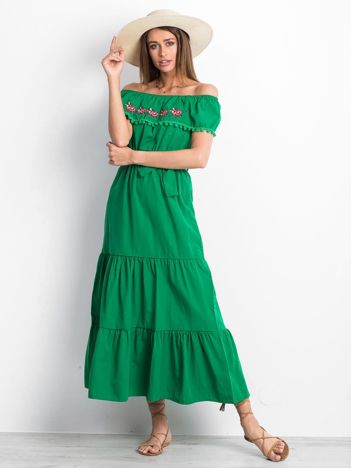 Zielona sukienka Corsica