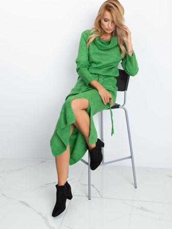 Zielona sukienka Peace