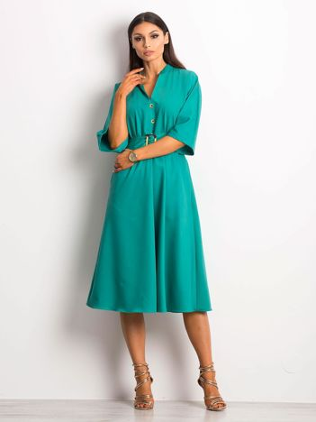 d10ae434d7 Zielona sukienka Synonymous