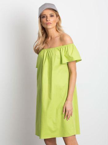 Zielona sukienka Winning