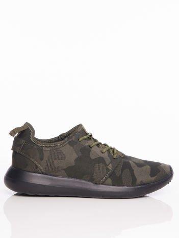 Zielone moro buty sportowe
