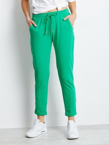 Zielone spodnie Approachable
