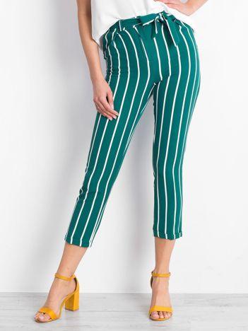 Zielone spodnie Coastal