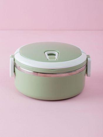 Zielony lunch box