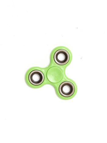 Zielony metalowy hand fidget spinner