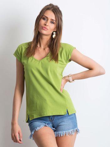 Zielony t-shirt Siren