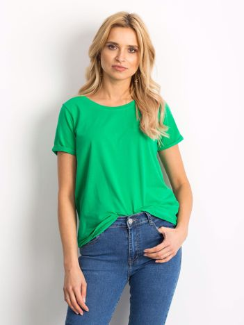 Zielony t-shirt Transformative