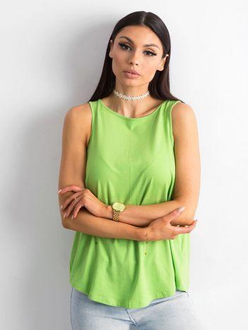 Zielony top z bawełny