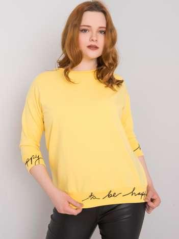 Żółta bluza Charliza