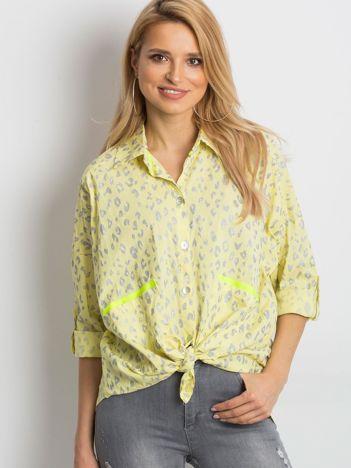 Żółta koszula Stylish